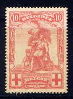 BELGIQUE - 127* - CROIX ROUGE / MONUMENT DE MERODE - 1914-1915 Red Cross