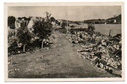 78 - Yvelines / CONFLANS -Ste- HONORINE -- Quai De Fin-d'Oise (destruction De Guerre), Au Fond Le Pont De Saint Germain. - Conflans Saint Honorine