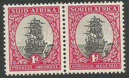 South Africa - 1953 Riebeeck's Ship 1d MH *  SG 135 - Ongebruikt
