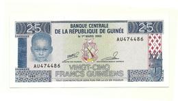 Guinea Repubblica - 25 Francs 1985 - Guinea