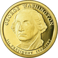 Monnaie, États-Unis, Dollar, Undated (2007), U.S. Mint, Philadelphie, FDC - 2007-…: Presidents