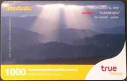 Mobilecard Thailand - True - Landschaft - Sonne - Thaïland