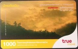 Mobilecard Thailand - True - Landschaft - Wolken - Thaïland