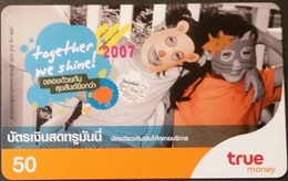 Mobilecard Thailand - True - Together We Shine - Masken - Thaïland