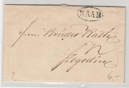 Austria Prephilately Letter Travelled 1846 Raab To Szegedin B180710 - ...-1850 Vorphilatelie