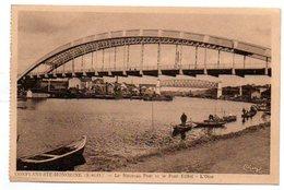78 - Yvelines / CONFLANS Ste- HONORINE -- Le Nouveau Pont Et Le Pont Eiffel - L'Oise. - Conflans Saint Honorine
