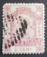 1888-1892 Coat Of Arms, British North Borneo, *,**, Or Used - Nordborneo (...-1963)