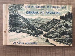 Carnet 20 Cartes ORNANS ET ENVIRONS - France