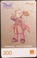 Mobilecard Thailand - Orange  - Ragnarok - Alchemist - Thaïland