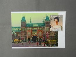 Maximumcard, Architecture, Rijksmuseum Amsterdam, Queen Wilhelmina - Museen