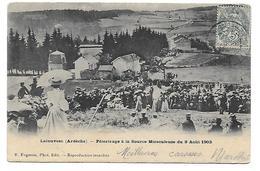 Ardeche - La Louvesc - Pelerinage A La Source Miraculeuse - La Louvesc
