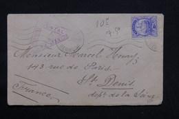 BERMUDES - Enveloppe Pour La France En 1915 Avec Contrôle Postal - L 32399 - Bermuda