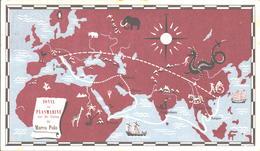 IONYL Plasmarine Marinol Sur Les Traces De Marco Polo Serie G CP N° 1 - Werbepostkarten