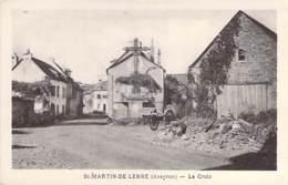 12 - ST MARTIN  DE LENNE : La Croix - CPA Village ( 295 Habitants ) - Aveyron - France