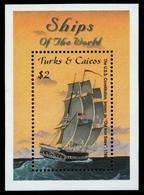 Turks- & Caicos 2001 - Mi-Nr. Block 202 ** - MNH - Schiffe / Ships - Turks & Caicos