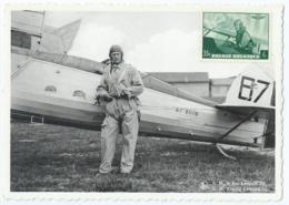 S.M. Le Roi Léopold III - Z.M. Koning Leopold III - Propagande Aéronautique - Luchtvaart-Propaganda - Familles Royales