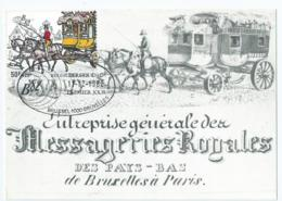 Koninklijke Nederlandse Besteldienst - Messageries Royales Des Pays-Bas - Maximaphiles A.S.B.L - 1982 - Pays-Bas