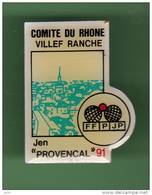 PETANQUE *** VILLEF RANCHE *** 1021 - Pétanque