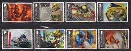 Gibraltar 2015 Michel N° 1661-1668 FDC Oblitéré  Fire Service Pompiers Feuerwehr Brandweer - Gibraltar
