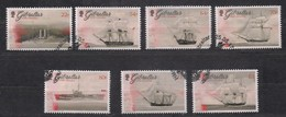 Gibraltar 2017 Michel N° 1790-1796 ETB FDC Oblitéré Bateaux Schepen Ships - Gibraltar