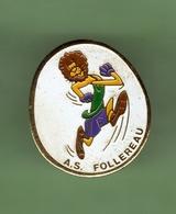 A.S FOLLEREAU *** 1021 - Pin's