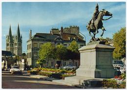 14 CAEN - 84 - Edts Artaud - Statue De Bertrand Du Guesclin. - Caen