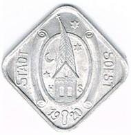 Nécessité - Allemagne - 10 Pfennig 1920 SOEST (Westfalen/Westphalie) - Monétaires/De Nécessité