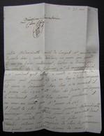 1787 Lettre Pour Mademoiselle De Bédé Aux Dames De Saint Joseph Rue Saint Dominique à Paris - Manuscripts