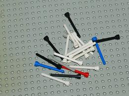 Lego Lot 1 20x Antenne Différentes Couleurs No Transparent 1x4 Ref 3957 - Lego Technic