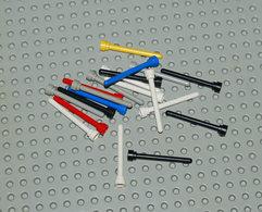 Lego Lot 3 20x Antenne Différentes Couleurs No Transparent 1x4 Ref 3957 - Lego Technic