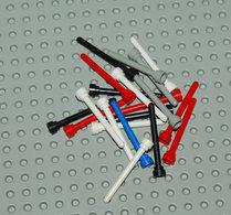 Lego Lot 4 20x Antenne Différentes Couleurs No Transparent 1x4 Ref 3957 - Lego Technic