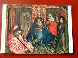 (FG.W16) LA MADONNA ED IL BAMBINO, CON SANTI - MAESTRO FLEMALLE ED ASSISTENTI (NATIONAL GALLERY OF ART, WASHINGTON) - Pittura & Quadri