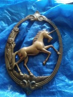 Unicorn Frame Bronze - Brons