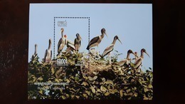CAMBODIA/ S/S  The Birds Of Cambodia Inssued 2018. - Cambodge