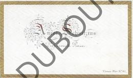 Porseleinkaart - Carte Porcelaine Brugge - Ancot - Schnitzius Proffesseur De Piano  8,5 X 5 Cm (G144) - Brugge