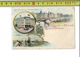 51268 - D8- GRUSS AUS OSTENDE - SALUT D OSTENDE - Oostende