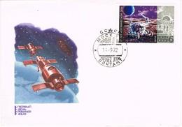 33126. Carta F.D.C. MOSCU (Rusia) 1972. Space. Luna, Moon SOYUZ - FDC & Conmemorativos