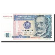 Billet, Pérou, 10 Intis, 1986, 1986-01-17, KM:129, NEUF - Pérou