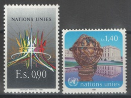 Nations Unies (Genève) - YT 152-153 ** MNH - 1987 - Ongebruikt