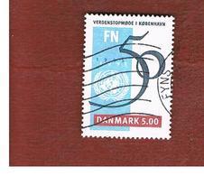 DANIMARCA (DENMARK)  -   SG 1042  -  1995 50^ ANNIVERSARY OF O.N.U.    - USED ° - Danimarca