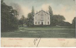 VILVORDE - VILVOORDE : L'Ecole D'Horticulture - RARE VARIANTE COLORISEE - Cachet De La Poste 1905 - Vilvoorde