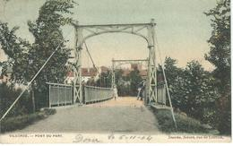 VILVORDE - VILVOORDE : Pont Du Parc - RARE VARIANTE COLORISEE - Cachet De La Poste 1904 - Vilvoorde