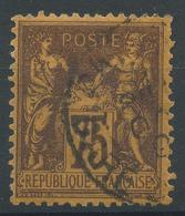 Lot N°49110  N°99, Oblit Cachet à Date De PARIS (Gare De ????) - 1876-1898 Sage (Type II)