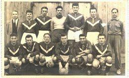 Thème - Foot - Carte Photo - Foot - équipe - Fraize - 1951-52 - Football