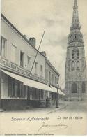 Souvenir D'ANDERLECHT : La Tour De L'Eglise - Cachet De La Poste 1902 - Anderlecht