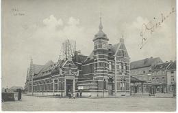 HAL - HALLE : La Gare - Cachet De La Poste 1908 - Halle
