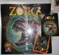Zoika Il Mistero Dei Dinosauri Album Vuito+box 50 Bustine FOL. Bo Del 2015 - Stickers