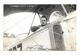 AVIATION SUISSE FLIEGER FRITZ RIHNER CARTE PHOTO / FREE SHIPPING R - Zonder Classificatie