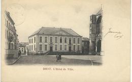 DIEST : L'Hotel De Ville - RARE VARIANTE - Cachet De La Poste 1902 - Diest