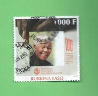 Timbre Oblitére Du Burkina Faso 2008 - Burkina Faso (1984-...)